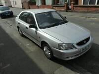 Hyundai Accent 1.3 petrol 2002