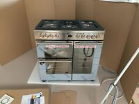 Stoves Sterling Deluxe S900G Stainless Steel Cooker