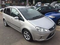 2007/57 FORD C-MAX 1.8 16V ZETEC,SILVER,LOW MILEAGE,STUNNING LOOKS AND CONDITION,DRIVES WELL