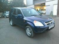 02 Honda Crv 2.0 5 door Half leather trim 2 owners ( can be viewed inside anytime)