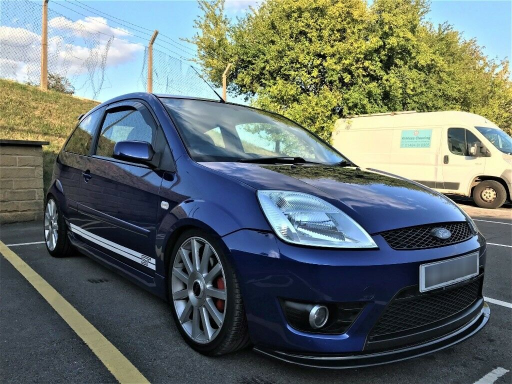 ford fiesta st 150 blue 2005 in huddersfield west. Black Bedroom Furniture Sets. Home Design Ideas