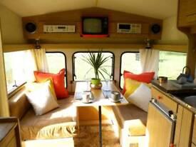 Rare retro Swift Danette 1980 caravan