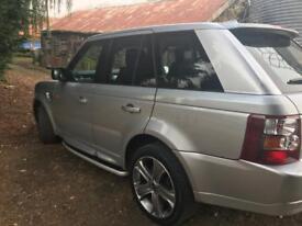 Range Rover sport 3.6v8 hse (higher spec) 2008 full service silver