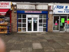 Plumbing & Heating Shop To Let in Greenford - £695pm (including bills & internet)(Rent Invoiceable)