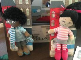 Dolls and 'house'
