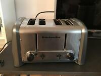 Used and dirty but beautiful toaster kitchen aid