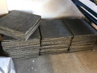 170x Carpet tiles new used flooring mezzanine office bedroom shop