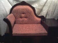 Vintage telephone chair