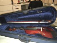 *new* violin with case