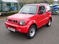 """2005 (05 reg), Suzuki Jimny 1.3 JLX 3dr, """"LOW MILEAGE"""" 4X4"""