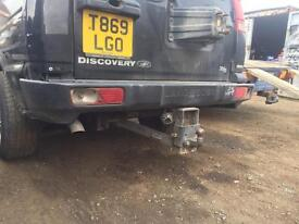 Land rover discovery td5 rear bumper