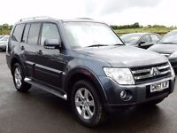 2007 mitsubshi shogun elegance 7 seater low miles, motd oct 2017 top spec all cards welcome