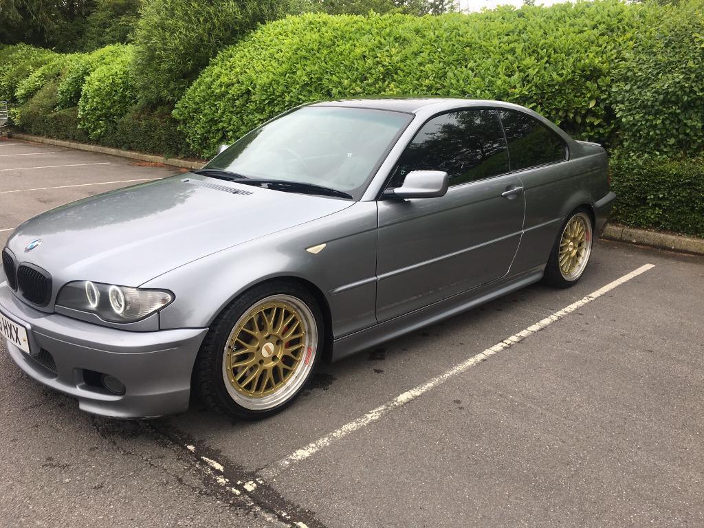 2005 bmw e46 3 series coupe m sport grey
