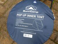 New, unused two berth Pop-Up Inner tent.