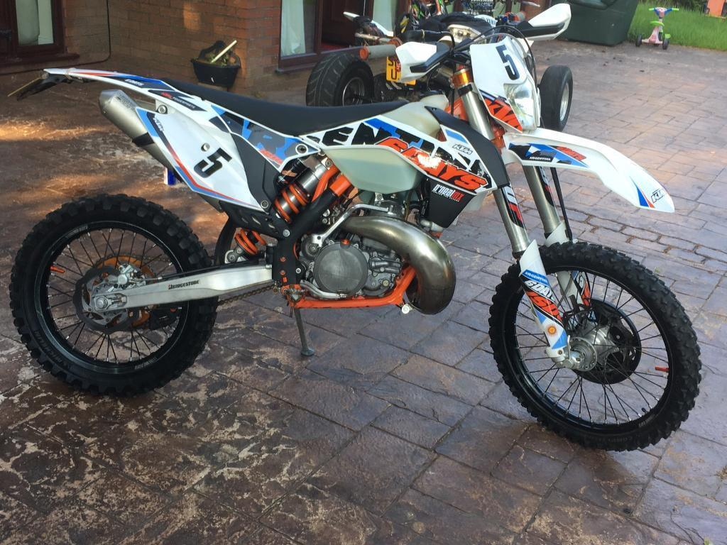 ktm 250cc 6 days exc argentina 2015 road legal in rochdale manchester gumtree. Black Bedroom Furniture Sets. Home Design Ideas