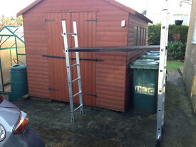 6 foot platform ladder - only used twice