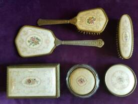 6 Piece Vintage Regent of London Vanity Set