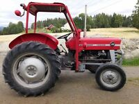 Massey Ferguson 133 - 1969 - Original Condition incl Tyres -1 owner from new - 3907 hours