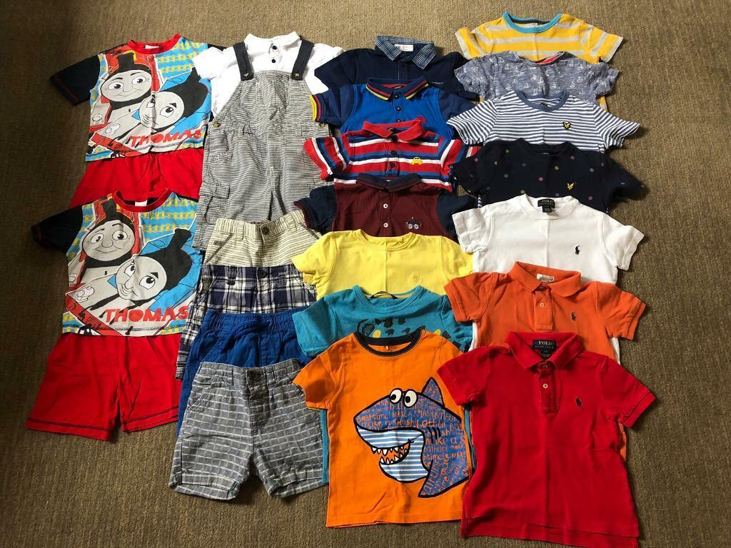 fab27d7a Age 2-3 Years Boys Summer Clothes Bundle - includes Next, Ralph ...