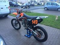 KTM SX125 motorcross bike not kx cr rm yz