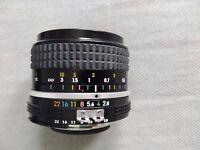 24mm 1.2.8 nikon nikkor prime lens