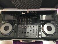 Pioneerdj DJM800 with CDJ2000 nexus including flgihtcase