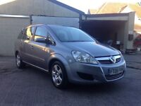 2008 Vauxhall Zafira Exclusive, 1.6, Just 76k