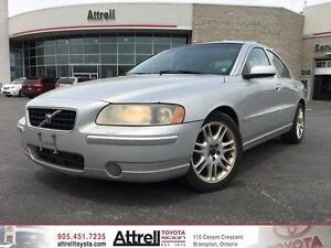 2005 Volvo S60 2.5T. Leather, Heated Seats, Driver Memory