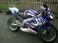 Aprilia rs 125 2008. Not dt. Msx. Wr
