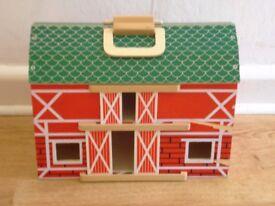 Wooden Dolls House-unused