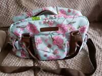 Flower Changing bag