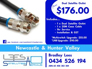 Dual Satellite Outlet $176.00 Thornton Maitland Area Preview
