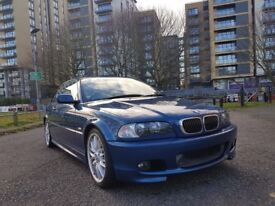 BMW 325ci M Sport E46 Topaz Blue with Comprehensive History (CLEAN EXAMPLE)