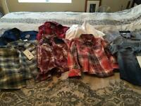 Boys shirt bundle age 4/5 x 8