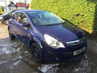 Cheap Vauxhall corsa 2011, very low millage