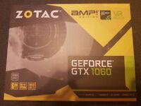 Zotac GeForce GTX 1060 AMP! Edition 6GB - Essentially Brand New.