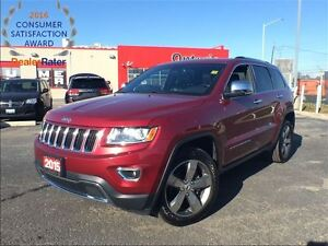 2015 Jeep Grand Cherokee LIMITED**LEATHER**NAVIGATION**BLUETOOTH