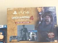 *** SWAP *** BRAND NEW & SEALED UNCHARTED PS4 for NINTENDO SWITCH or Mini Nes + Cash