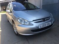 peugeot 307 2.0 hid 7 seater