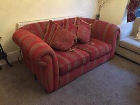 Chesterfield Sofa with recently re-foamed seats