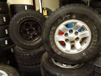 2 sets of toyota hilux alloys good all terrain tyres all round 31 x 10.5 r15 £150 per set