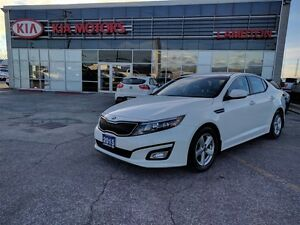 2015 Kia Optima LX PEARL WHITE Warranty to 100,000km