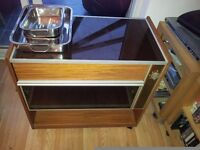 Salton Hostess Trolley with Serving Dishes