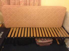 Single bed with mattress good condition