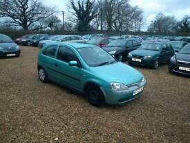 2002 Vauxhall Corsa 1.4 Auto 1 Years MOT Low Milage Cheap Car