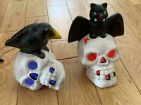 Halloween light up skulls