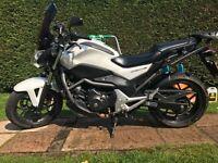 Honda nc 700 s new mot