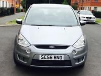 DIESEL FORD S-MAX ZETEC TDCI 6G 1.8 MANUAL MPV 7 SEATER