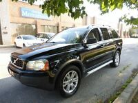 2006 Volvo XC90 7 PASS -- LEATHER -- BLACK