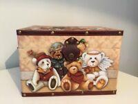 Baby Teddy Memory Box